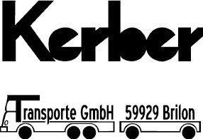 Willkommen bei der                                             Kerber Transporte GmbH in Brilon